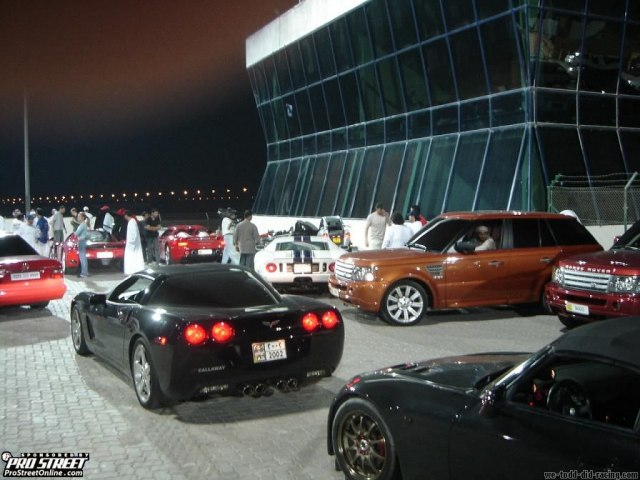 Street Racing In Dubai